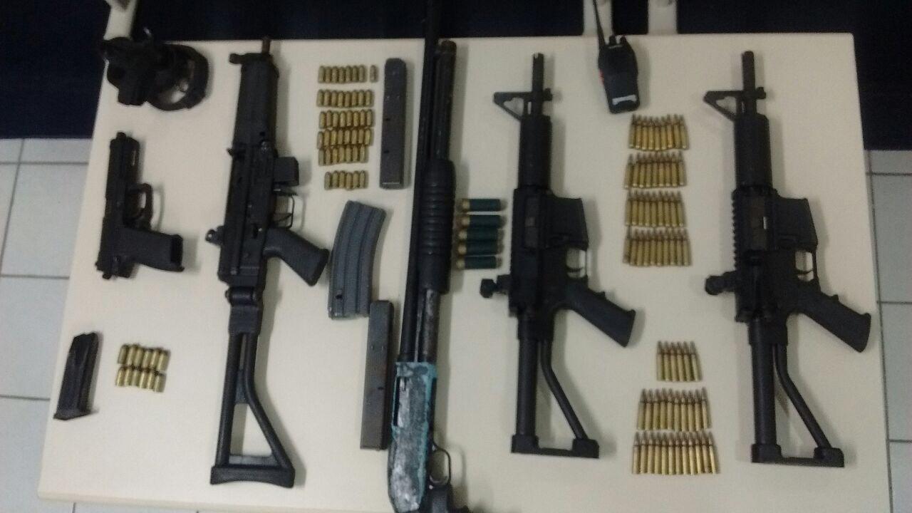 SEGURANÇA PUBLICA: POLÍCIA CIVIL ANTECIPA AÇÕES CRIMINOSAS, APREENDE ARSENAL DE ARMAS E PRENDE DUAS PESSOAS