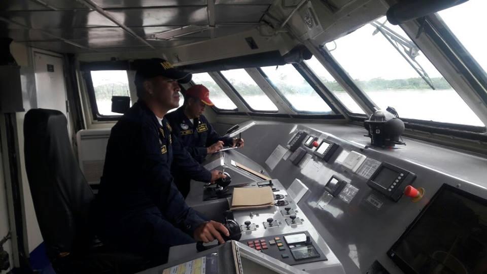 GALERIA: Centro de Avaliação da Frota colombiana testa (e aprova) comportamento de patrulheiro fluvial em 21 procedimentos operacionais e de emergência