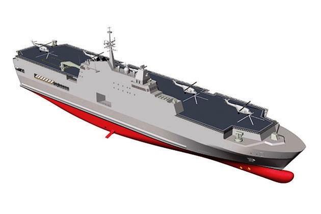 A ERA DOS NAVIOS TIPO LHA! Singapura propõe o projeto de um porta-helicópteros de assalto anfíbio comparável aos maiores (e melhores) de sua classe