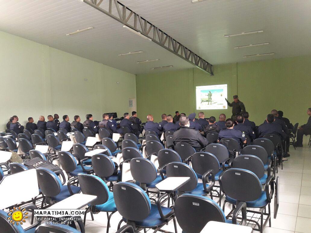 ADSUMUS: GUARDA MUNICIPAL DE MARATAÍZES RECEBE INSTRUÇÕES DOS FUZILEIROS NAVAIS