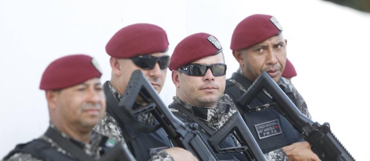 Segurança Publica: Homens da Força Nacional já estão no Rio para reforçar a segurança