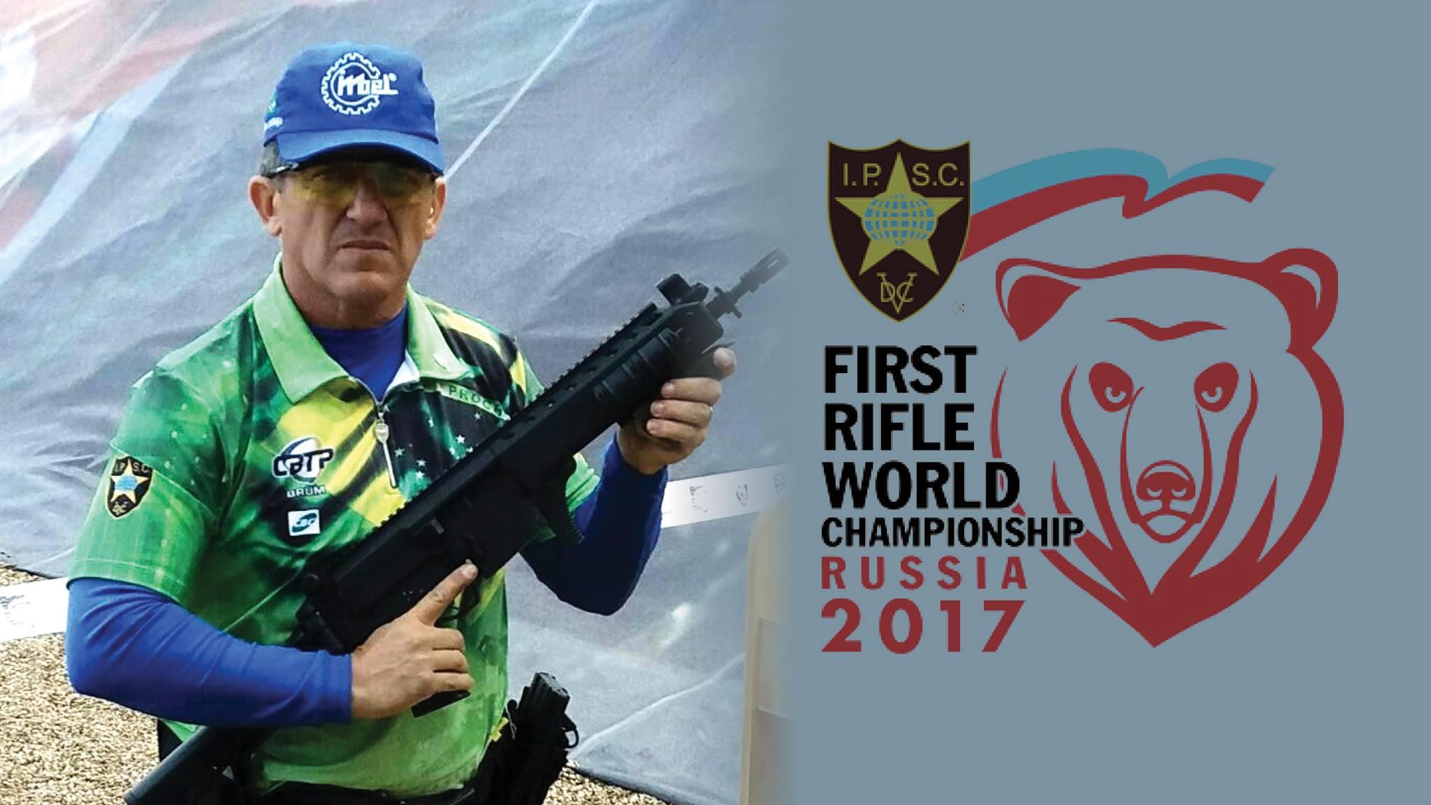 """FAB PÉ DE POEIRA: Suboficial da Força Aérea Brasileira participa da competição internacional de tiro """"First Rifle World Campionship 2017"""