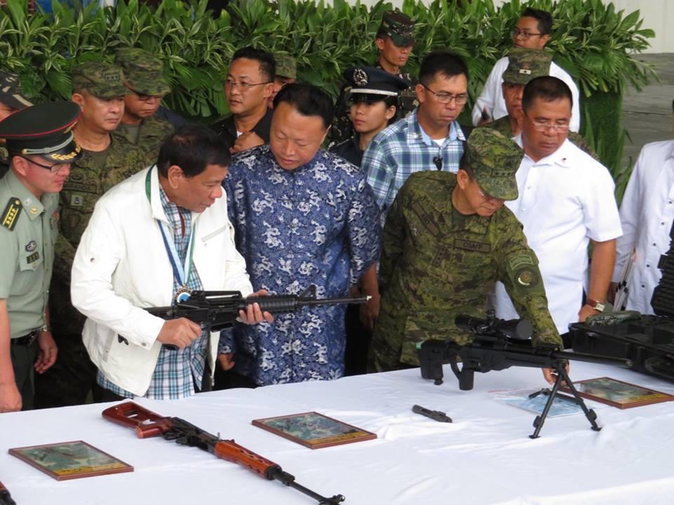 China envia ajuda militar para Filipinas combater terroristas