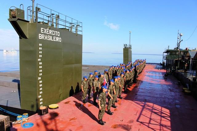 Em nome da mobilidade das tropas na Amazônia! CMA prepara a transformação do seu Centro de Embarcações em Batalhão de Transporte