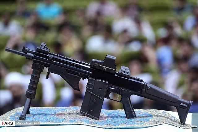 Irã apresenta seu novo fuzil automático Zolfaqar calibre 7,62×51 mm