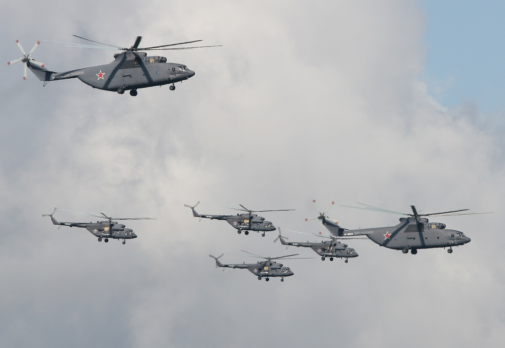 Brasil pode comprar helicópteros militares da Rússia, diz Temer à agência Tass