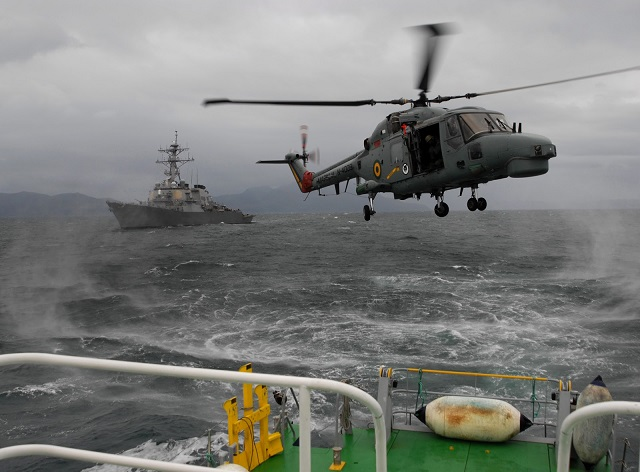 Leonardo Helicópteros diz que 1º Lynx modernizado da Marinha do Brasil voa no mês que vem