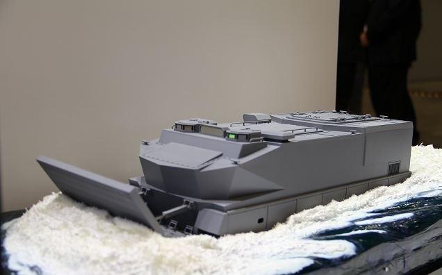 Mitsubishi  apresenta seu projeto de veiculo de assalto anfíbio para o Japão