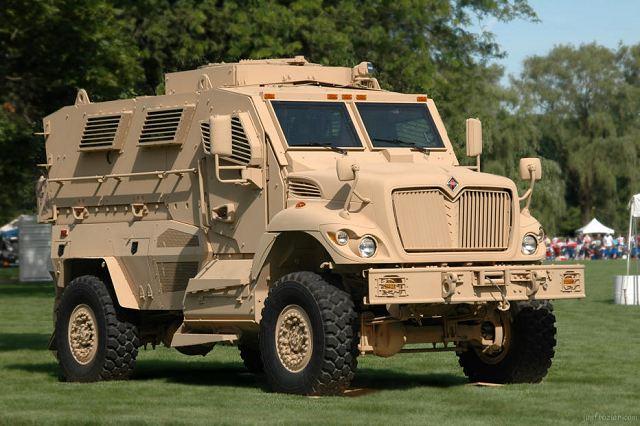 Iraque compra 115 veículos  International MaxxPro MRAP 4×4