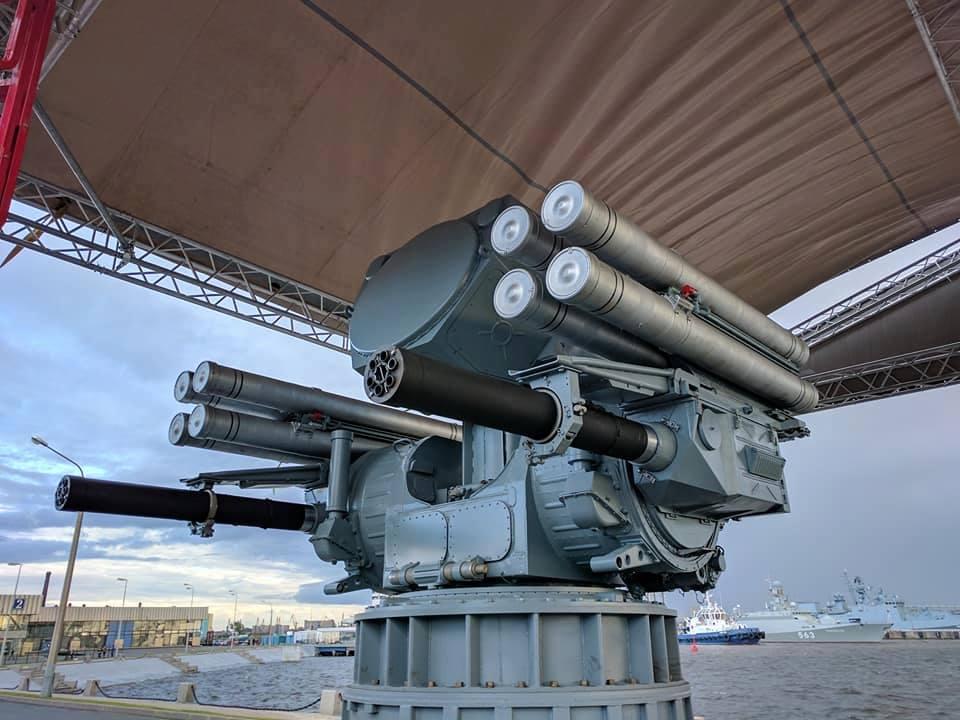 Protótipo do sistema naval Pantsir-ME é apresentado em São Petersburgo