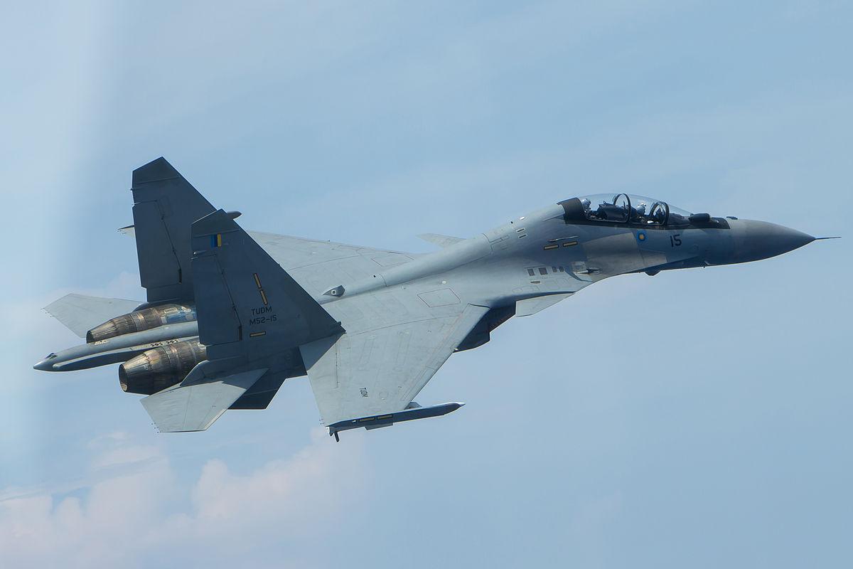 SU 30MKM da Força Aérea da Malásia foram qualificados para lançar bombas guiadas a laser GBU 12 PAVEWAY II