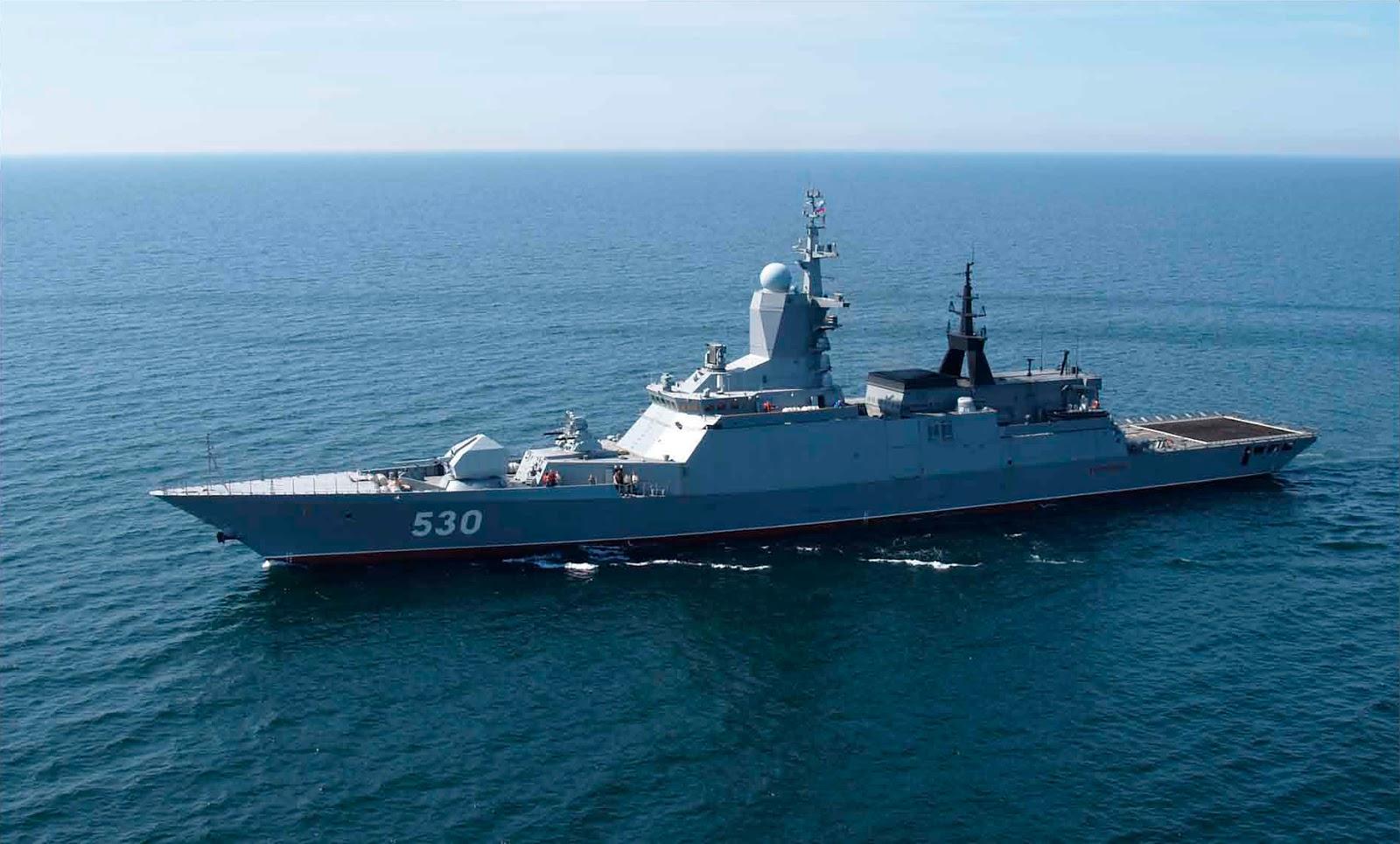 """Conheça a Corveta Project 20382 """"Classe Tigr""""  o navio que causou alarde no Brasil…"""