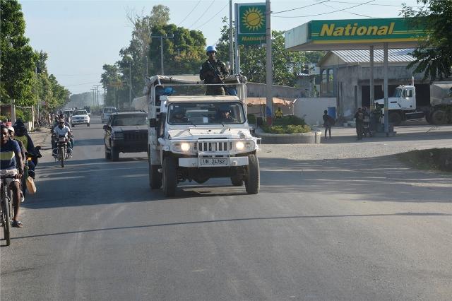 MINUSTAH: Área de  Cité Soleil entregue à Polícia Nacional Haitiana