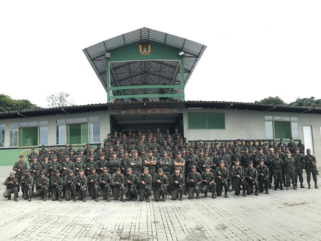 27º Batalhão de Infantaria Pára-quedista (27º BI Pqdt) realiza adestramento em ambiente de selva durante a Operação Bumerangue II