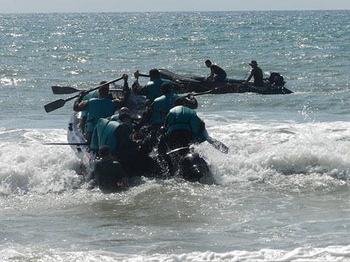 ADSUMUS : Grupamento de Fuzileiros Navais de Natal (GptFNNa) realiza adestramento no Campo de Instrução de Muriú