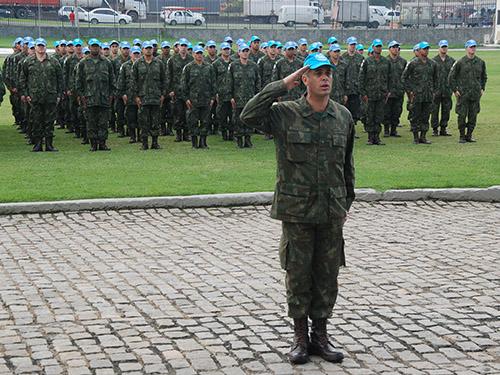 ADSUMUS: 25° Contingente do Grupamento Operativo de Fuzileiros Navais – Haiti (GptOpFuzNav-Haiti) é desativado no Rio de Janeiro