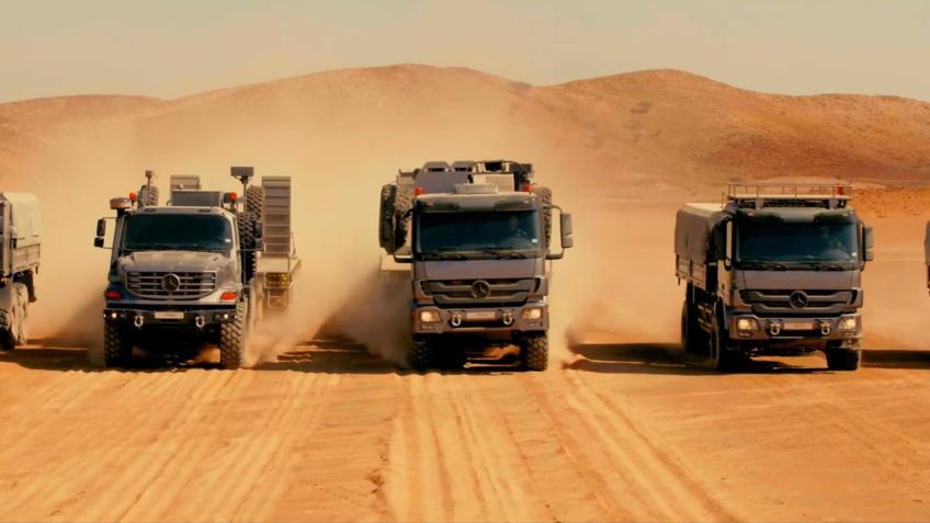 Mercedes-Benz:  Soluções  Off-Road integradas para todos os mercados