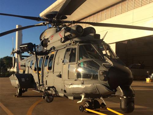 O Segundo Esquadrão de Helicópteros de Emprego Geral (HU-2), Esquadrão Pegasus recebe aeronave  UH-15 Super Cougar C-SAR