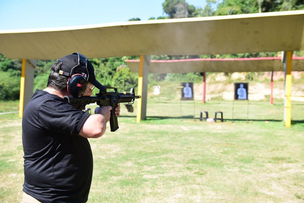 Taurus realiza demonstração do novo Fuzil T4 calibre  5,56×45 mm para a  Secretaria de Segurança Pública do Amazonas