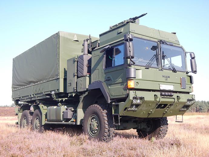 Forças Armadas alemãs renovará  frota de viaturas logísticas