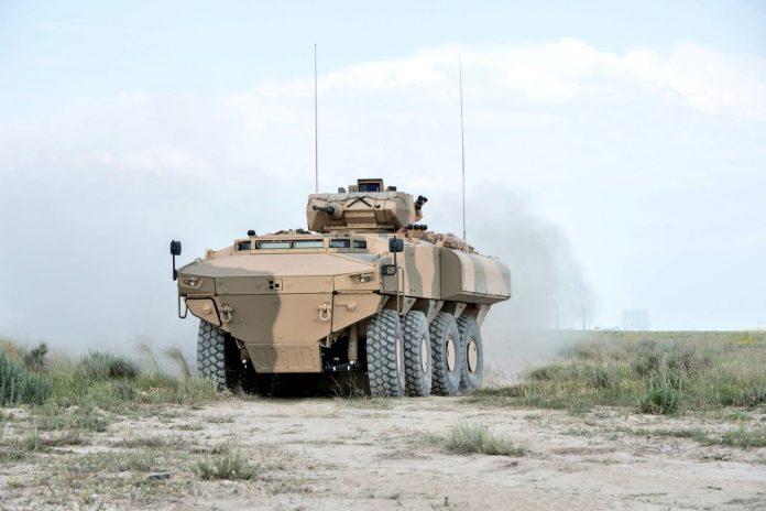 Omã recebe o primeiro lote de veículos  blindados PARS III 8 × 8 da Turquia.