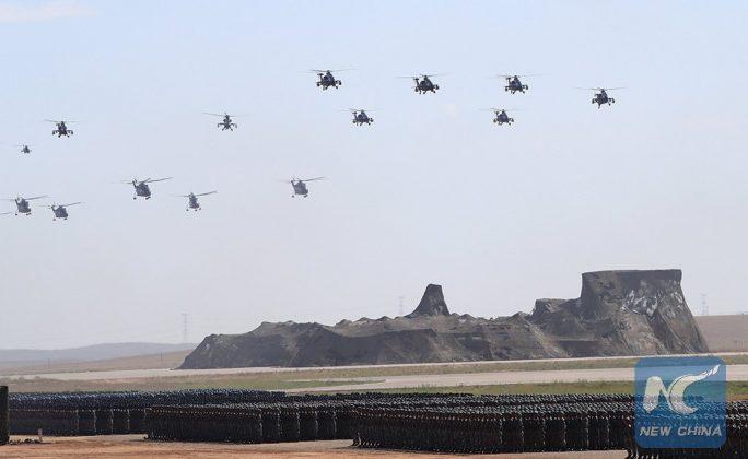 Desfile Militar do 90º aniversário do Exército de Libertação Popular da China