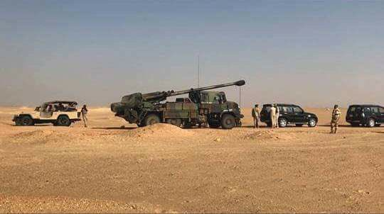 Egito pretende adquirir novos Obuseiros autopropulsados 155mm