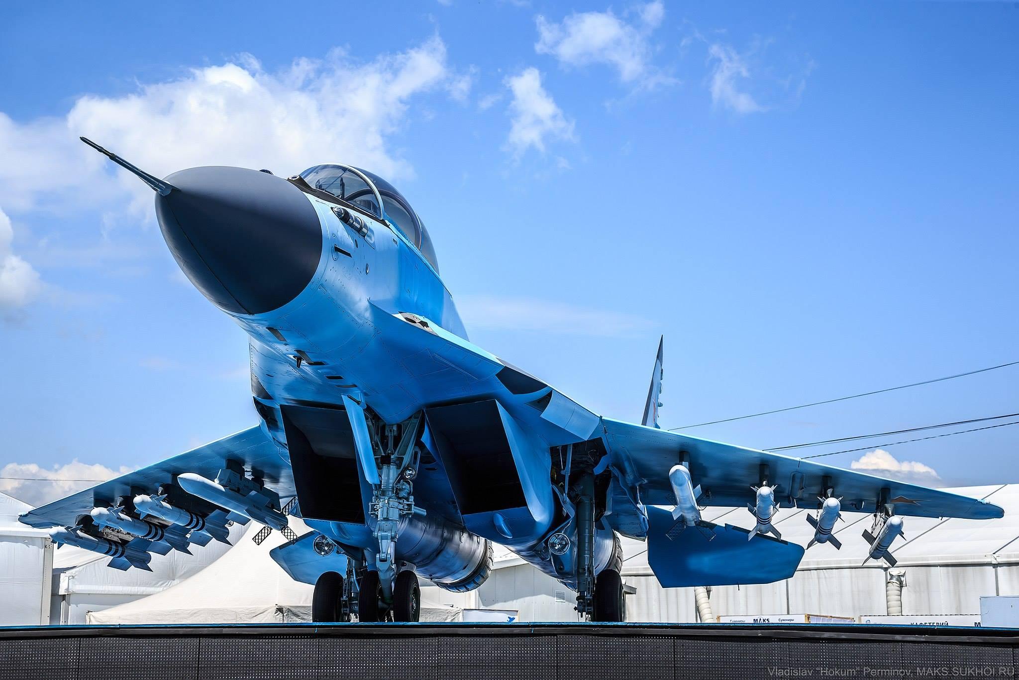 Rússia vai adquirir um lote inicial de 24 caças MIG 35