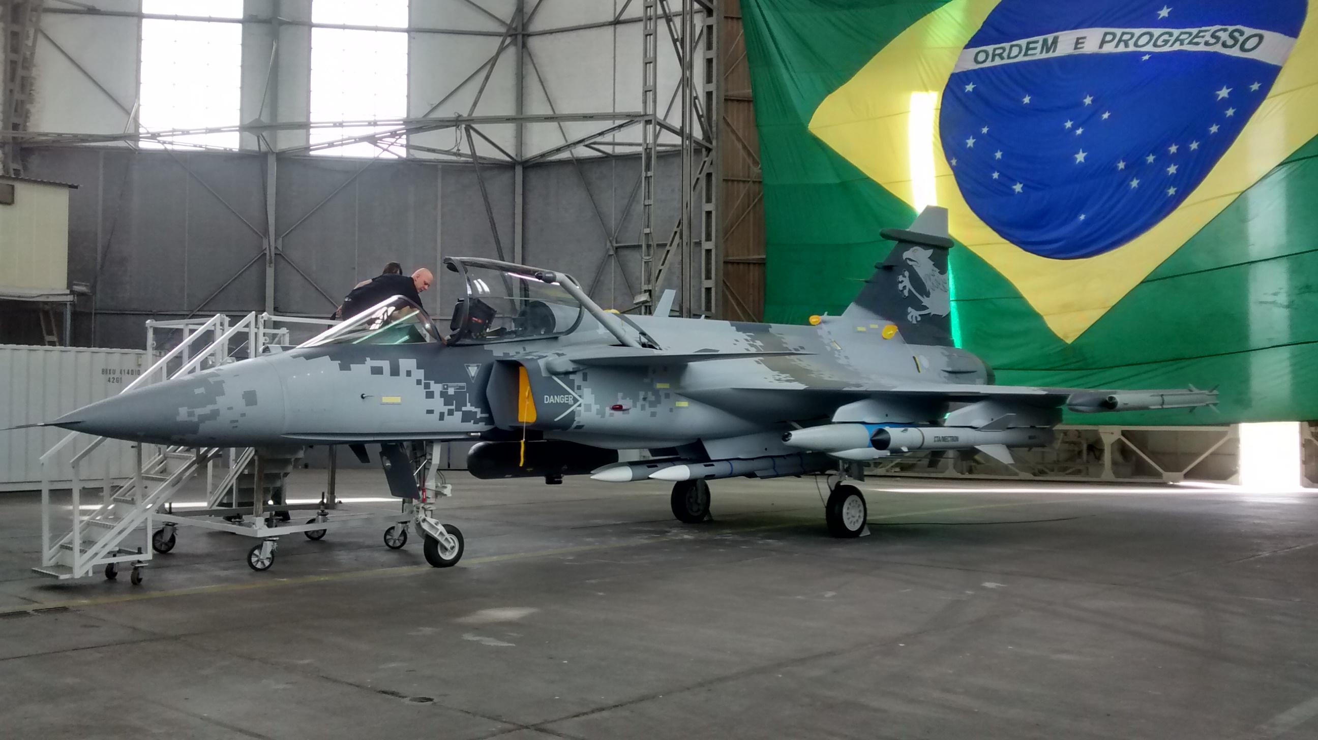 São Bernardo aguarda há quatro anos decisão da SAAB sobre fábrica de caças na cidade