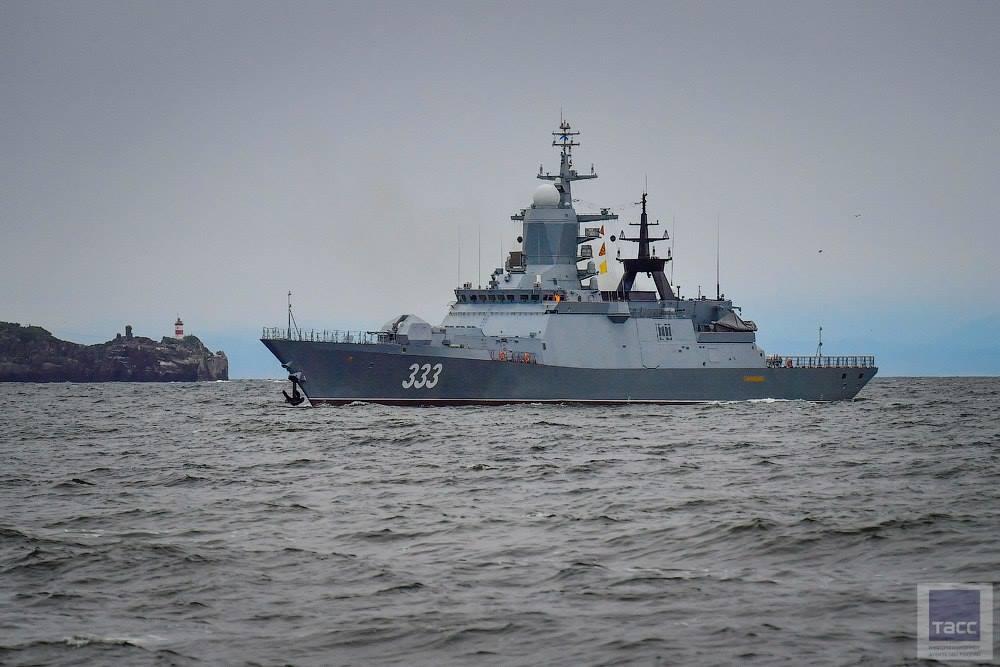 """A nova Corveta Project 20380  """"Perfect"""" chega à Frota do Pacífico"""