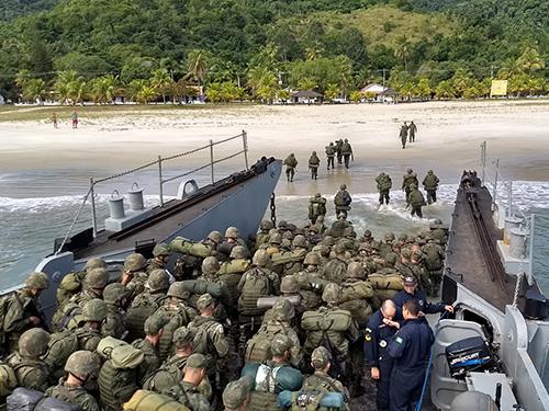 ADSUMUS: Centro de Instrução Almirante Sylvio de Camargo realiza exercício MARAMBEX-II