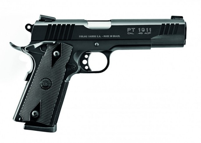 Taurus celebra os 100 anos da pistola 1911 em evento no Paraná