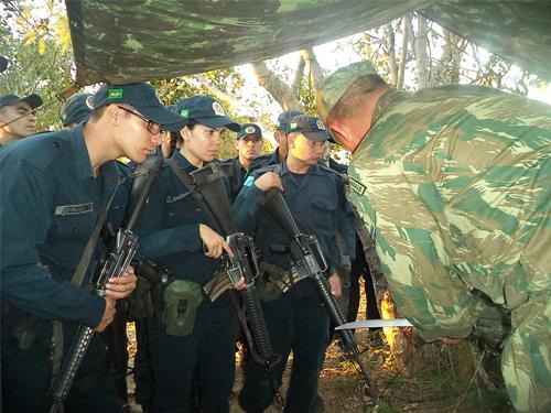 ADSUMUS: Grupamento de Fuzileiros Navais de Ladário (GptFNLa) inicia o Estágio Operativo no Pantanal para a Polícia Militar do MS