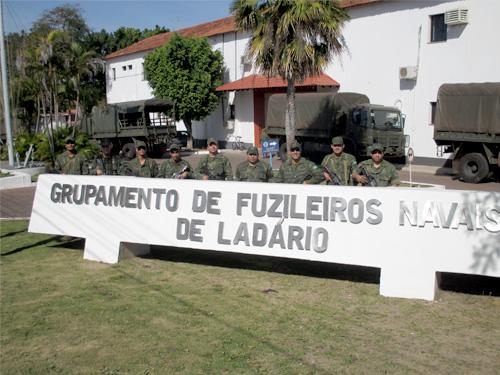 ADSUMUS: Comboio Logístico do Grupamento de Fuzileiros Navais de Ladário (GptFNLa)  regressa do Rio de Janeiro