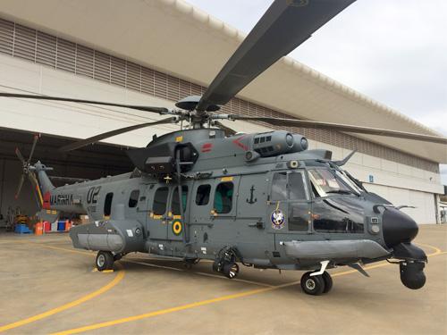Segunda aeronave  UH-15A Super Cougar  (C-SAR) é transferido para o Setor Operativo