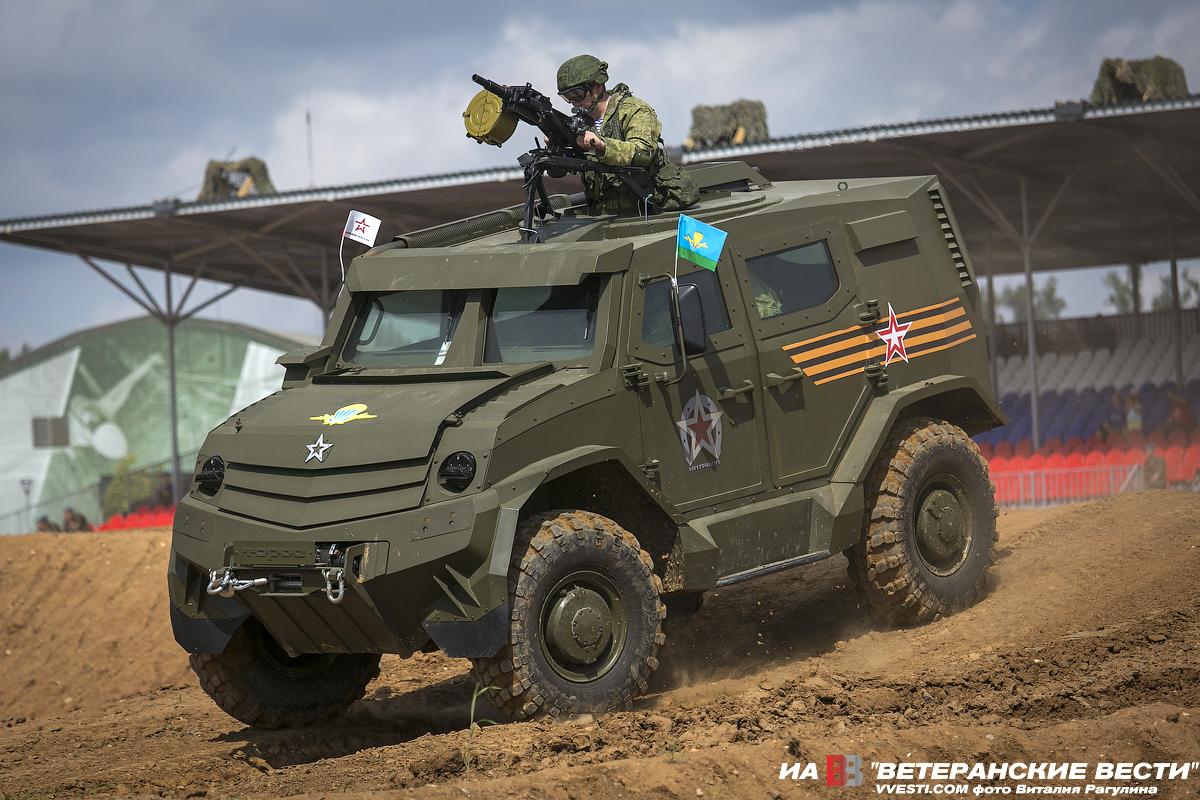 Primeira imagem do veículo blindado 4×4 Toros das Forças Aerotransportadas da Rússia