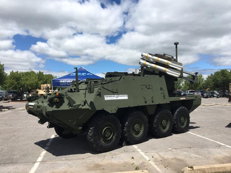 General Dynamics Land Systems apresenta seu sistema de defesa antiaérea  Stryker MSL
