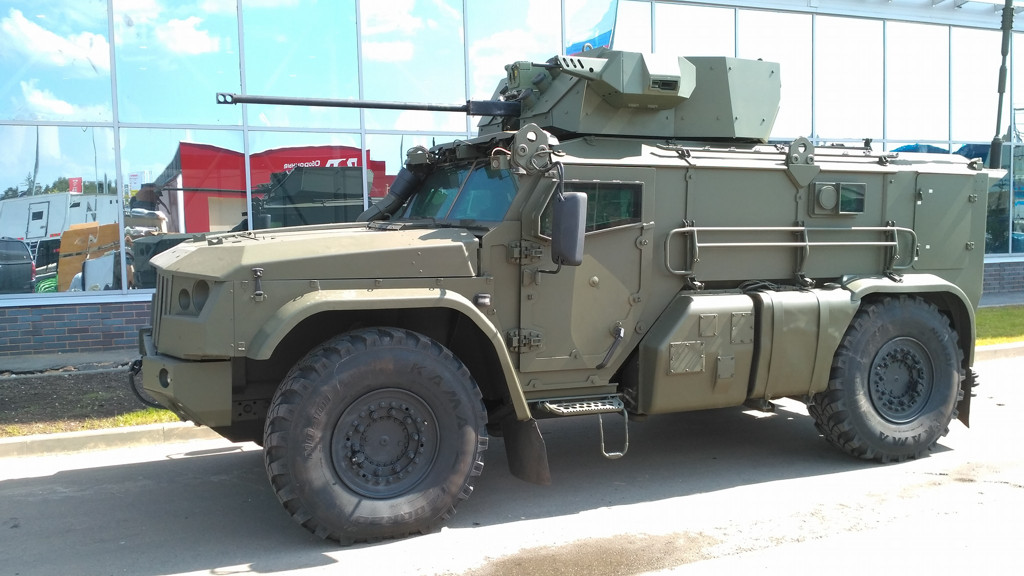 KAMAZ Typhoon / VDV 4×4 – Novo veículo para as tropas paraquedistas da Rússia