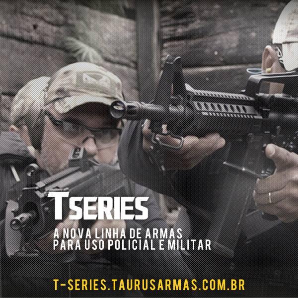 Taurus lança hotsite da  nova linha de armas T Series confira !