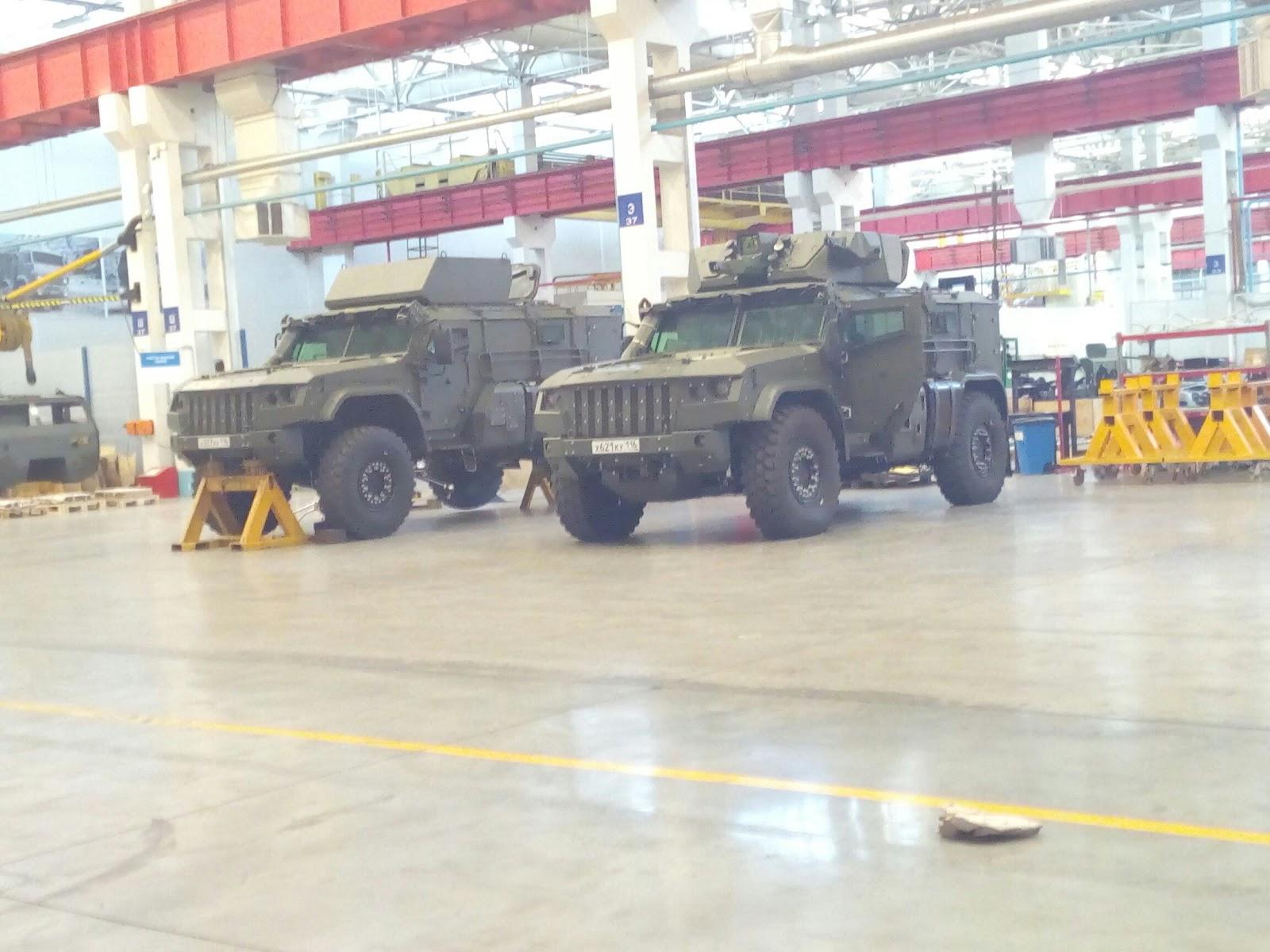 """EXCLUSIVO: Por dentro do K-4386 """"Typhoon-VDV"""" (""""Wolverine"""") o novo veículo blindado das Tropas Aerotransportadas da Federação Russa"""