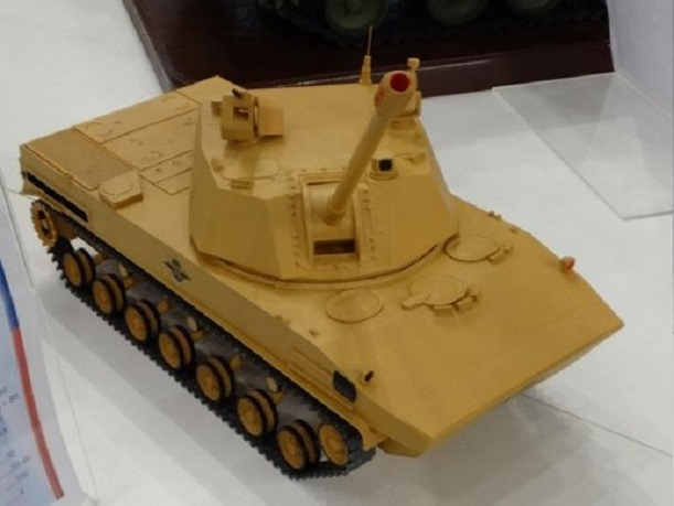 Rússia desenvolve novo  sistema de artilharia autopropulsada de 120 mm para tropas aerotransportadas