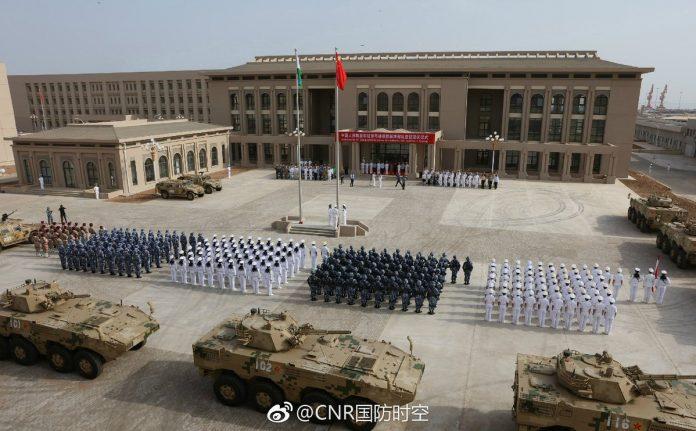 China inaugura sua primeira base militar no exterior em Djibuti