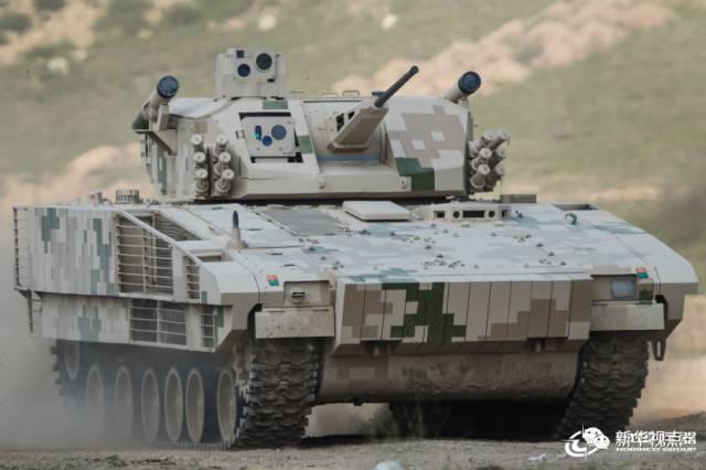 Empresa Chinesa Norinco apresenta seu novo veículo de combate de infantaria VN-17