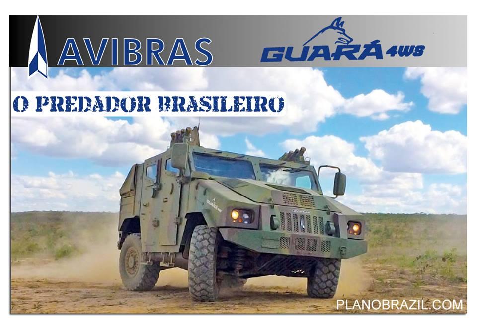 Com garras afiadas e DNA 100% Brasileiro... O lobo da AVIBRAS em breve no Plano Brasil