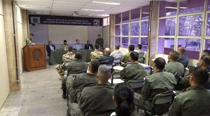 BOPE da  Polícia Militar de Mato Grosso do Sul  inicia hoje o Primeiro Curso de Rastreamento Policial do Brasil