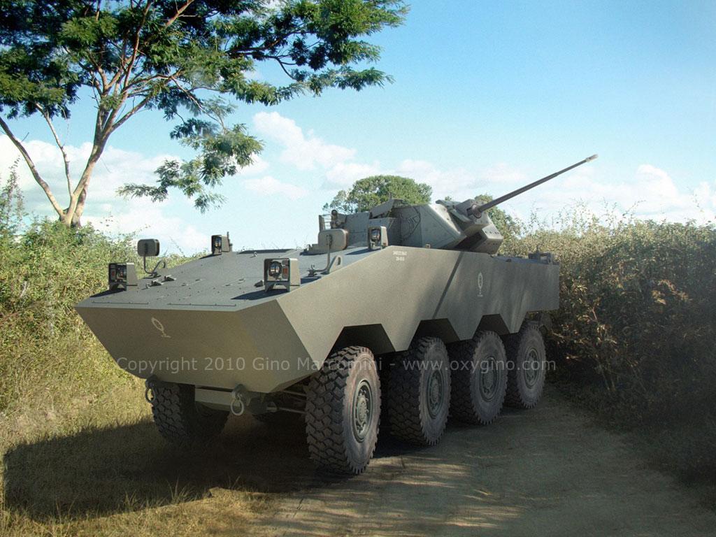 Exército Brasileiro adia projeto do Guarani 8×8