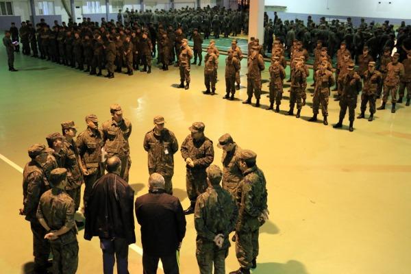 FAB PÉ DE POEIRA: Batalhão de Infantaria 25  realiza Exercício de Prontidão