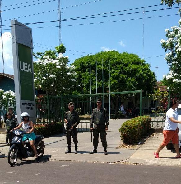 FAB PÉ DE POEIRA: Infantaria da Aeronáutica apoia Eleições suplementares em Manaus