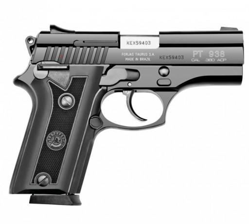 O design consagrado da pistola Taurus 938