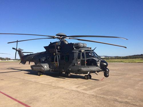 2º Esquadrão de Helicópteros de Emprego Geral recebe aeronave C-SAR